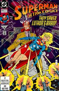 Cover Thumbnail for Action Comics (DC, 1938 series) #678