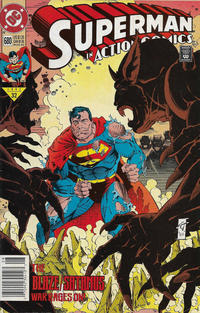 Cover Thumbnail for Action Comics (DC, 1938 series) #680 [Newsstand]