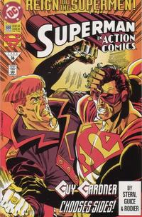 Cover Thumbnail for Action Comics (DC, 1938 series) #688 [Direct]