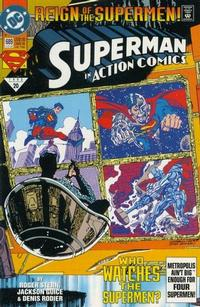 Cover Thumbnail for Action Comics (DC, 1938 series) #689 [Direct]