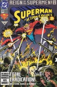 Cover Thumbnail for Action Comics (DC, 1938 series) #690