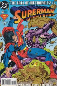 Cover Thumbnail for Action Comics (DC, 1938 series) #701 [Direct Sales]