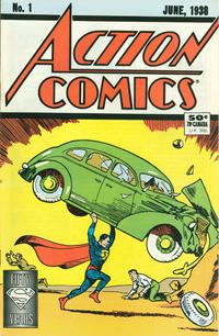Cover Thumbnail for Action Comics [50¢ Cover] (DC, 1988 series) #1