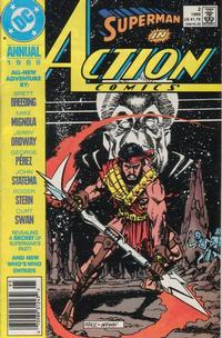 Cover Thumbnail for Action Comics Annual (DC, 1987 series) #2 [Newsstand]