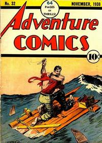 Cover Thumbnail for Adventure Comics (DC, 1938 series) #32