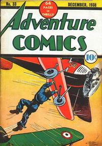 Cover Thumbnail for Adventure Comics (DC, 1938 series) #33