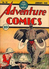 Cover Thumbnail for Adventure Comics (DC, 1938 series) #34