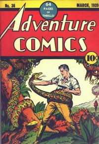 Cover Thumbnail for Adventure Comics (DC, 1938 series) #36