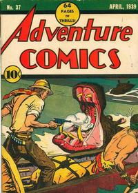 Cover Thumbnail for Adventure Comics (DC, 1938 series) #37