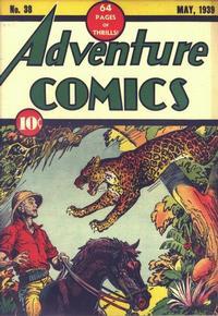 Cover Thumbnail for Adventure Comics (DC, 1938 series) #38