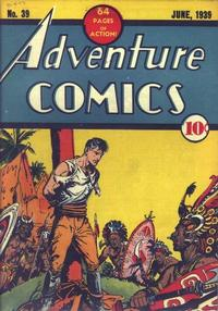 Cover Thumbnail for Adventure Comics (DC, 1938 series) #39