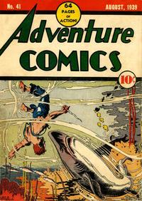 Cover Thumbnail for Adventure Comics (DC, 1938 series) #41