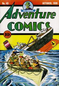 Cover Thumbnail for Adventure Comics (DC, 1938 series) #43