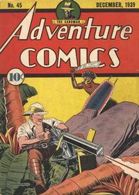 Cover Thumbnail for Adventure Comics (DC, 1938 series) #45