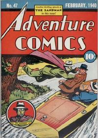 Cover Thumbnail for Adventure Comics (DC, 1938 series) #47