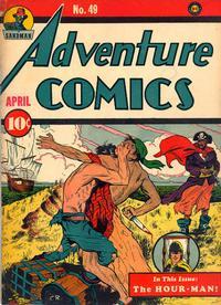 Cover Thumbnail for Adventure Comics (DC, 1938 series) #49