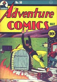 Cover Thumbnail for Adventure Comics (DC, 1938 series) #50