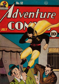Cover Thumbnail for Adventure Comics (DC, 1938 series) #52