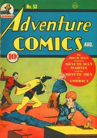 Cover Thumbnail for Adventure Comics (DC, 1938 series) #53