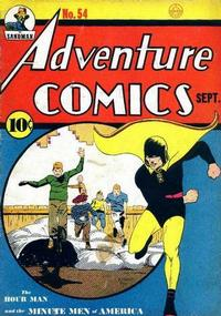 Cover Thumbnail for Adventure Comics (DC, 1938 series) #54