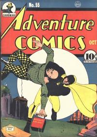 Cover Thumbnail for Adventure Comics (DC, 1938 series) #55