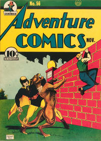 Cover Thumbnail for Adventure Comics (DC, 1938 series) #56