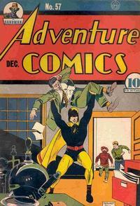 Cover Thumbnail for Adventure Comics (DC, 1938 series) #57