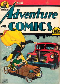 Cover Thumbnail for Adventure Comics (DC, 1938 series) #58 [Without Canadian Price]