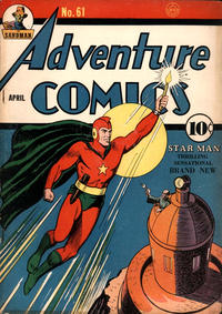 Cover Thumbnail for Adventure Comics (DC, 1938 series) #61