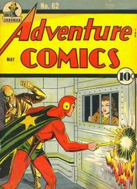 Cover Thumbnail for Adventure Comics (DC, 1938 series) #62