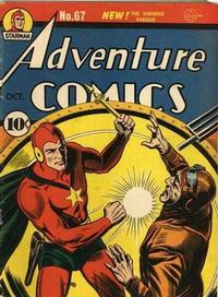 Cover Thumbnail for Adventure Comics (DC, 1938 series) #67