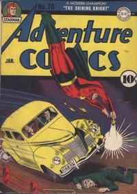 Cover Thumbnail for Adventure Comics (DC, 1938 series) #70