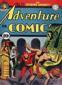 Cover Thumbnail for Adventure Comics (DC, 1938 series) #71