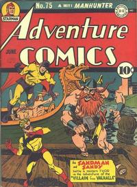 Cover Thumbnail for Adventure Comics (DC, 1938 series) #75