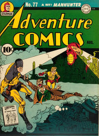 Cover Thumbnail for Adventure Comics (DC, 1938 series) #77