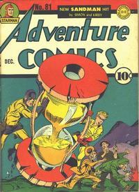 Cover Thumbnail for Adventure Comics (DC, 1938 series) #81