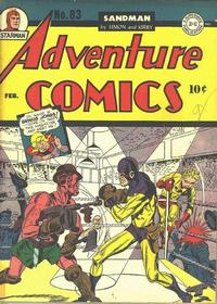Cover Thumbnail for Adventure Comics (DC, 1938 series) #83