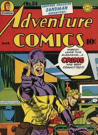 Cover Thumbnail for Adventure Comics (DC, 1938 series) #84