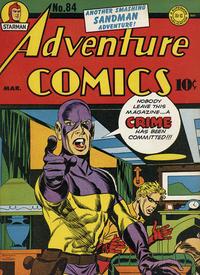 Cover Thumbnail for Adventure Comics (DC, 1938 series) #84