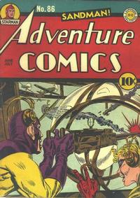 Cover Thumbnail for Adventure Comics (DC, 1938 series) #86