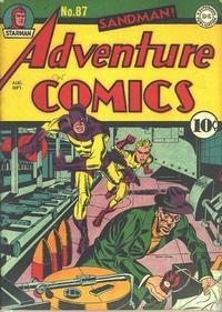 Cover Thumbnail for Adventure Comics (DC, 1938 series) #87