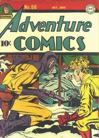 Cover Thumbnail for Adventure Comics (DC, 1938 series) #88
