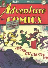 Cover Thumbnail for Adventure Comics (DC, 1938 series) #89