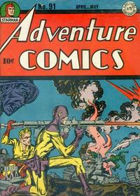 Cover Thumbnail for Adventure Comics (DC, 1938 series) #91