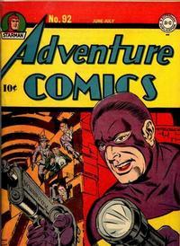Cover Thumbnail for Adventure Comics (DC, 1938 series) #92
