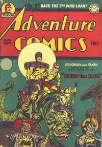 Cover Thumbnail for Adventure Comics (DC, 1938 series) #93