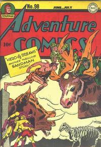 Cover Thumbnail for Adventure Comics (DC, 1938 series) #98