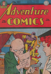 Cover Thumbnail for Adventure Comics (DC, 1938 series) #102
