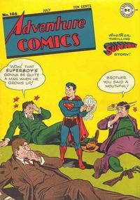 Cover Thumbnail for Adventure Comics (DC, 1938 series) #106