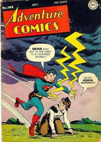 Cover Thumbnail for Adventure Comics (DC, 1938 series) #108